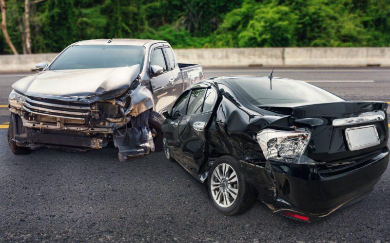 totaled car in Portland oregon stolen