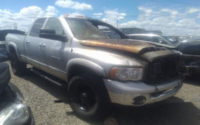 Dodge Ram Totaled Total Loss appraisal for insurance dispute with Progressive Insurance company